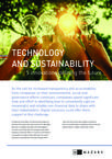 Technology and Sustainability: Five innovations